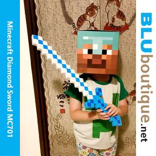Minecraft Diamond Sword 62 cm MC701 (with light and sound)