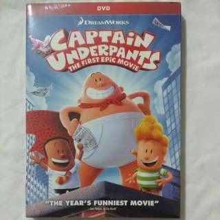 [Movie Empire] Captain Underpants - The First Epic Movie DVD