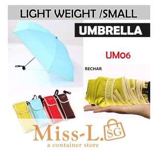 💋 LIGHT WEIGHT UMBRELLA UM06