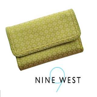 Auth. Nine West Pattern Women's Medium Wallet