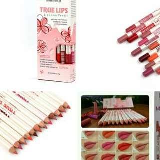 🔥True Lips Set (12pcs)      P180