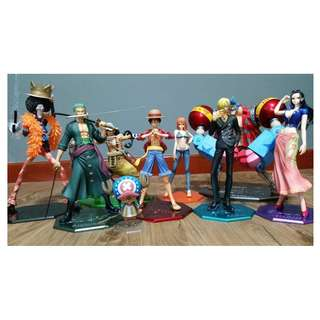 One Piece POP (Portrait of Pirates) Sailing Again Full Set (100% Authentic with box)