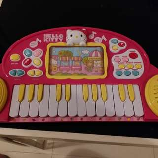 Hello Kitty Piano