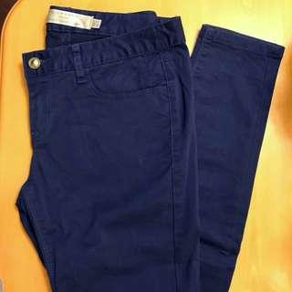 "Pants 褲 waist 27"""
