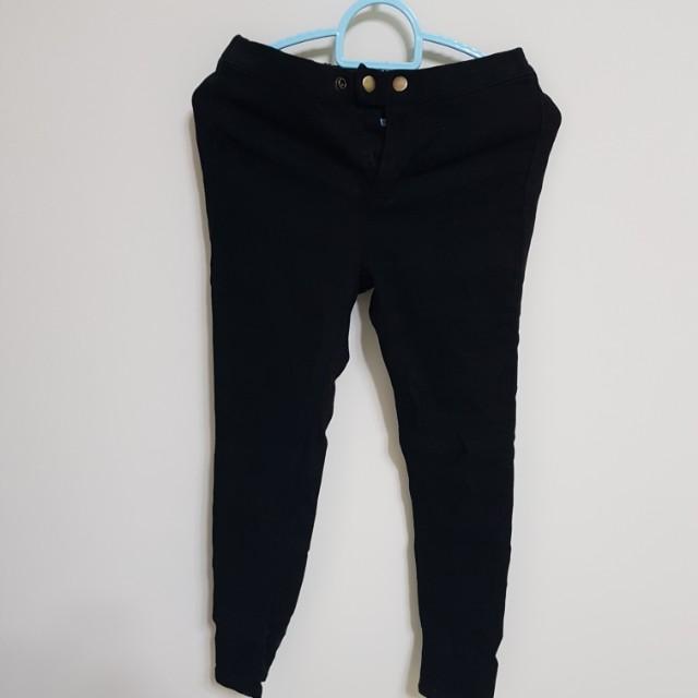 [百元]內刷毛鬆緊褲頭緊身褲