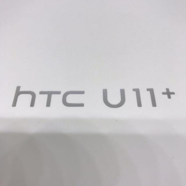 新 HTC U11+ 128G 透視黑 非 U11 UU