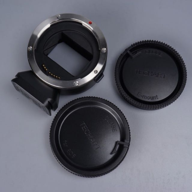 天工 TECHART EOS-NEX III三代 自動對焦CANON EF鏡頭轉NEX E卡口機身轉接環 a7 6500