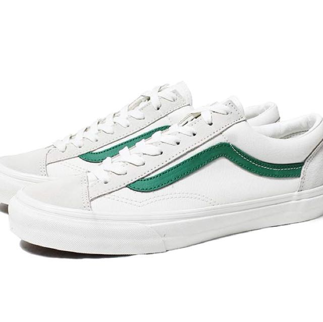 全新 Vans style 36 綠色 24cm