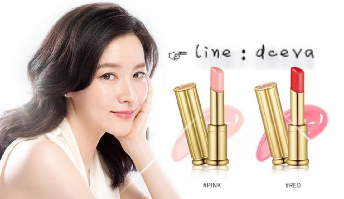 😍限量👄韓國 后WHOO 皇后之吻潤色護唇膏(粉紅) 中樣 2g