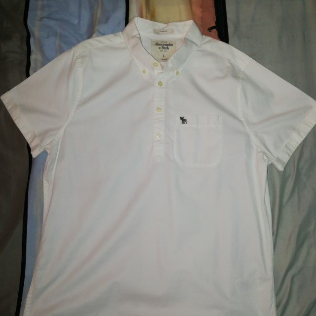 Abercrombie & Fitch Button-Down Classic Polo