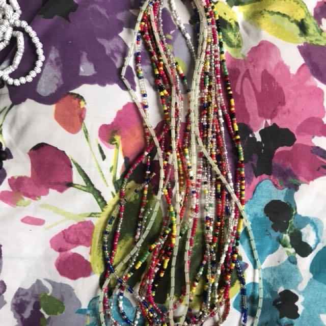 African Women's Waist Beads