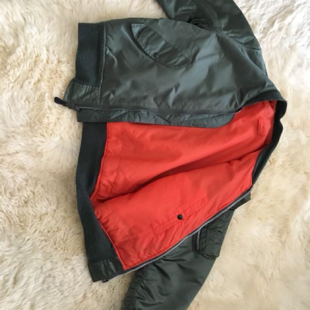 Alpha Industry reveesible Jacket 2
