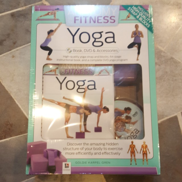 Anatomy of Fitness Yoga : Book, DVD & Yoga Accessories, Sports ...