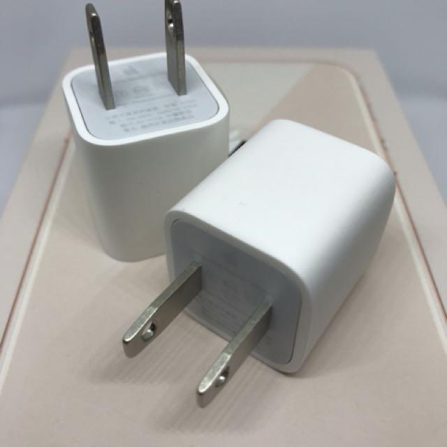 Apple iPhone 原廠 充電器 充電頭 豆腐頭