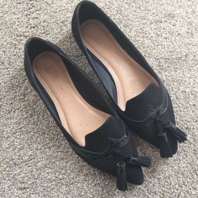 ASOS Flats with Tassels UK 3