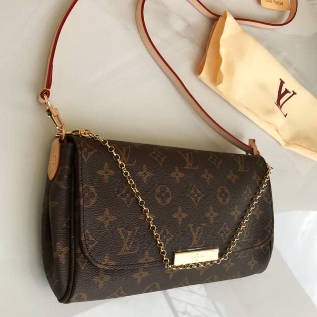 e721f0e4926d Authentic Louis Vuitton Favorite MM Monogram