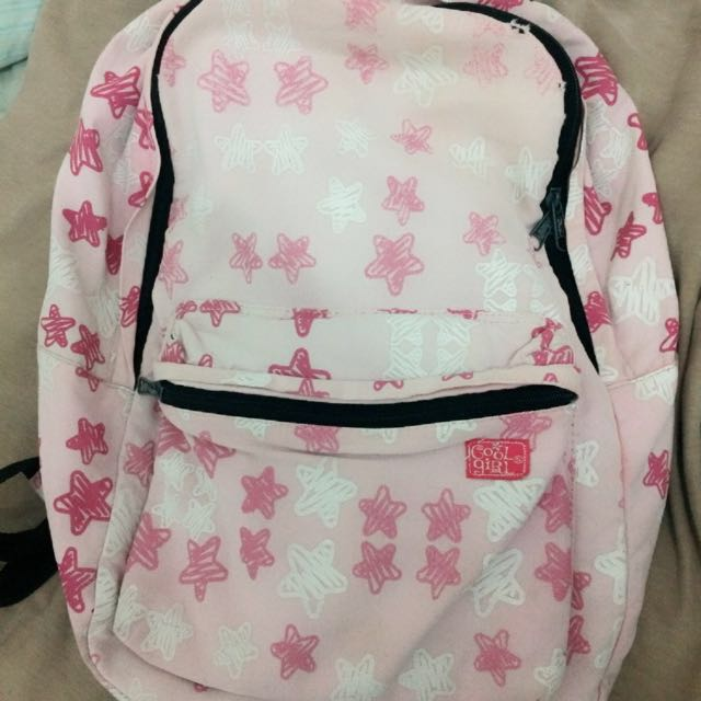 Back Pack Cool Girl