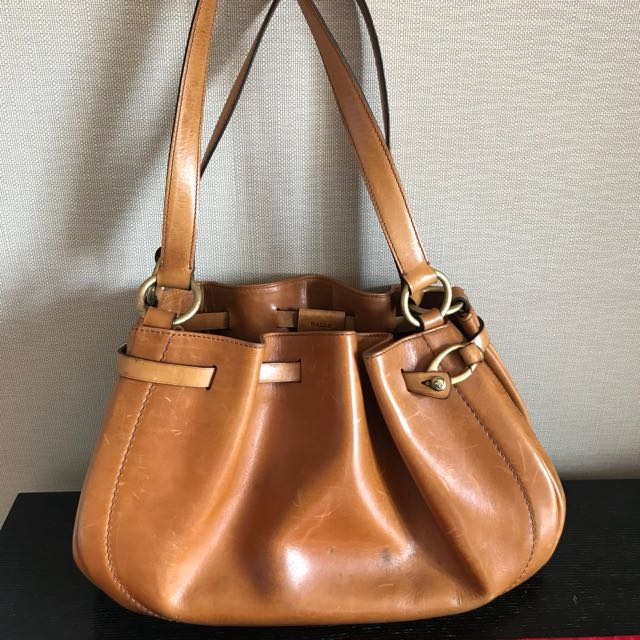 Bally leather bag