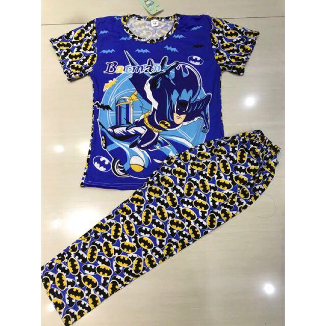 Batman Blue Terno sleepwear
