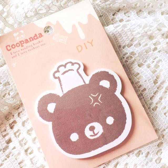 Beary Delicious - Sticky Notes.
