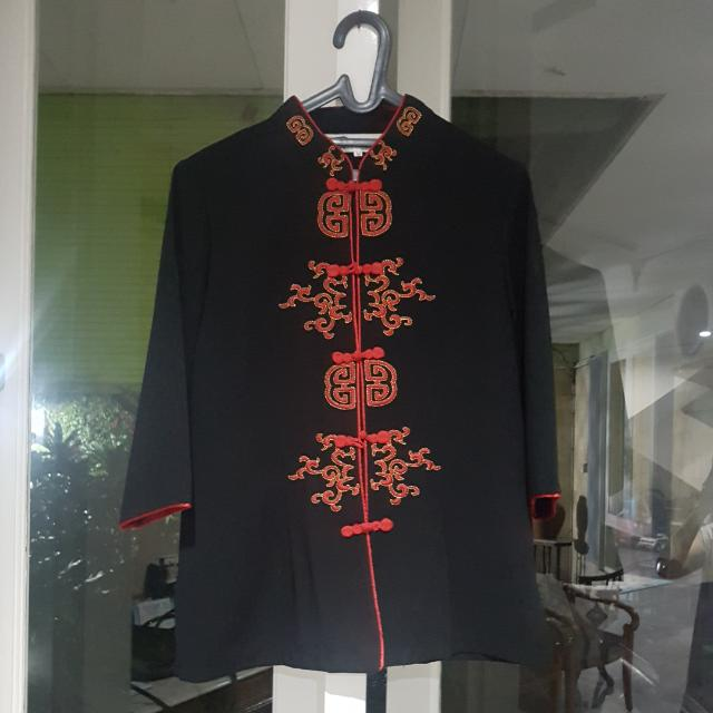 black blouse shanghai style