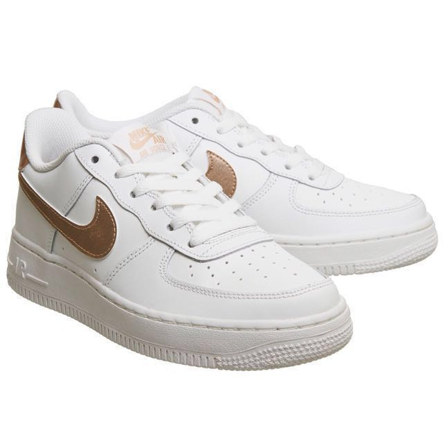 aea0045a342 BRAND NEW AUTHENTIC INSTOCK Nike Air Force 1 Rose Gold Tick (White ...