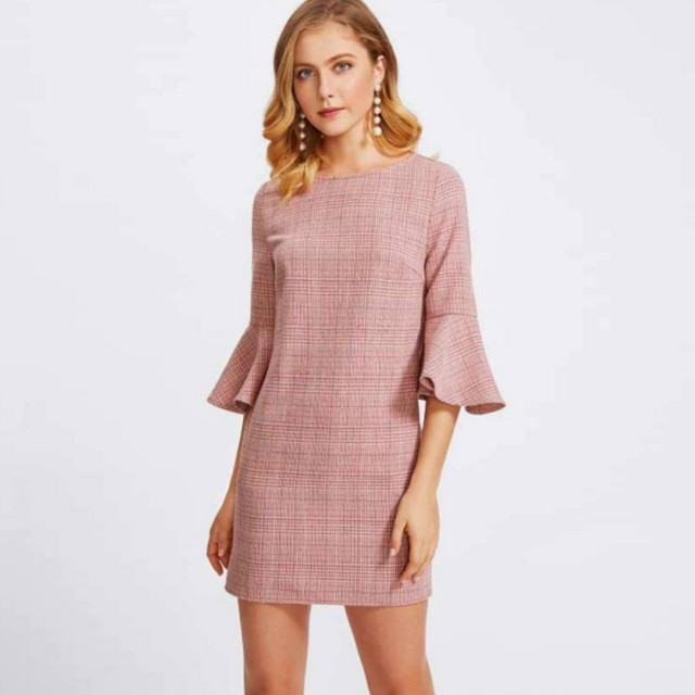 BNew Pink Dress w/actual pic