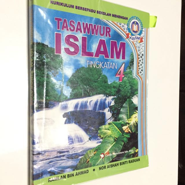Buku Teks Tasawwur Tingkatan 4 Textbooks On Carousell