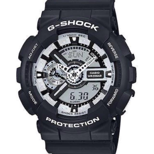 Casio G-Shock Black Watch GA110BW-1A