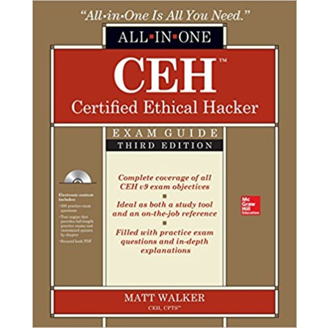 Ceh certified ethical hacker exam guide 3rd edition textbooks on photo photo photo 1betcityfo Images