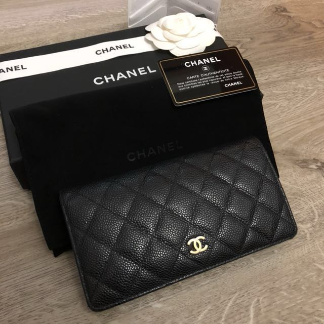 5458a03efa522e Chanel Classic Flap Wallet in Grained Calfskin, Women's Fashion, Bags &  Wallets on Carousell