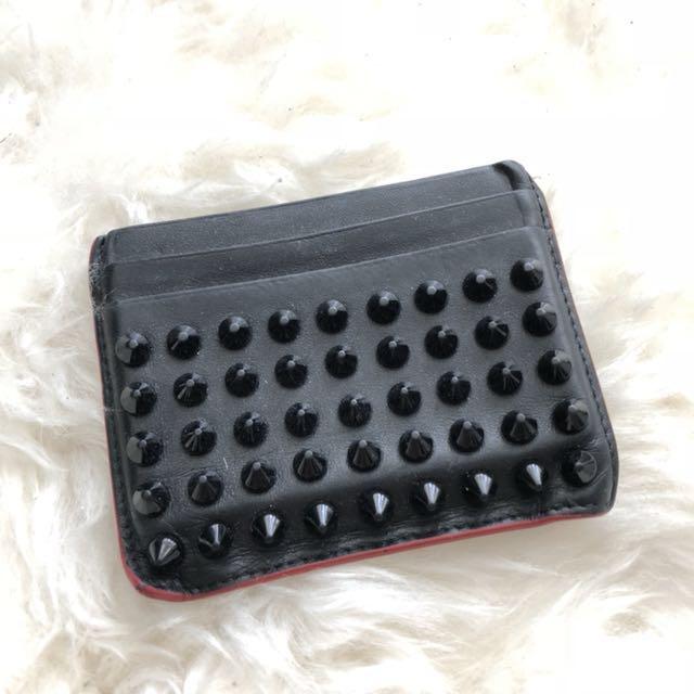 CL black cardholder