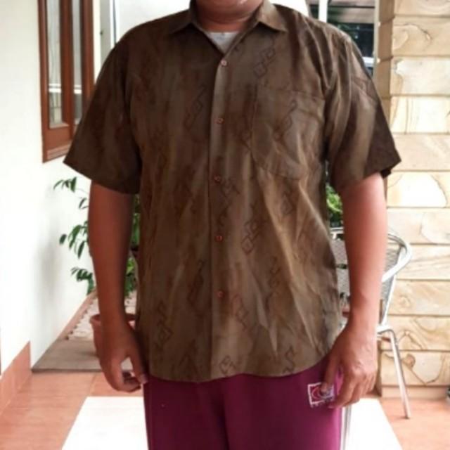 #CNY2018 Kemeja Batik Corak Simpel