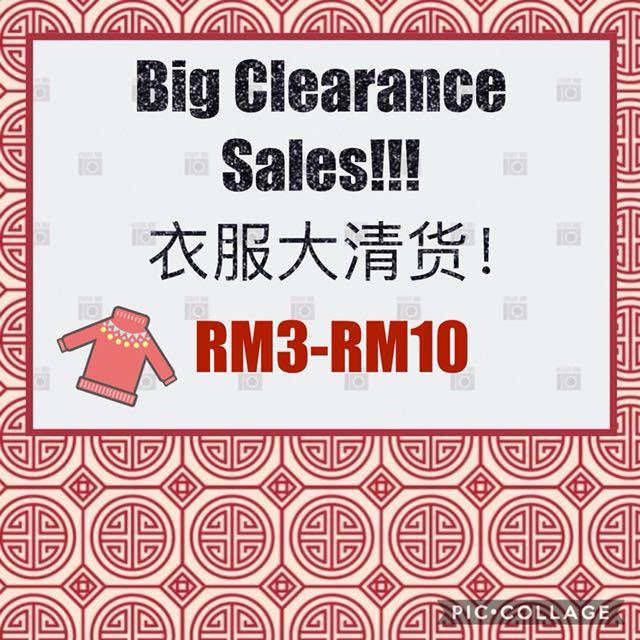 CNY Big Clearance Sales!!