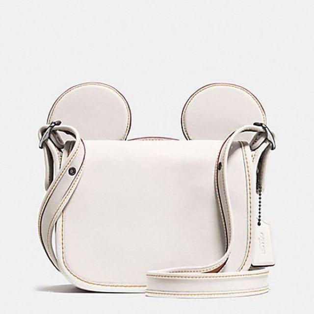Coach X Disney 米奇斜背包