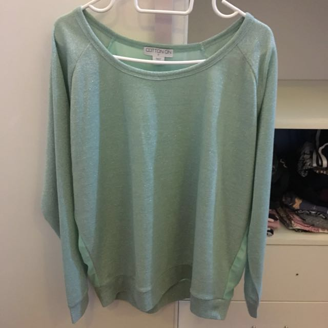 Cotton on long sleeve top #springclean60