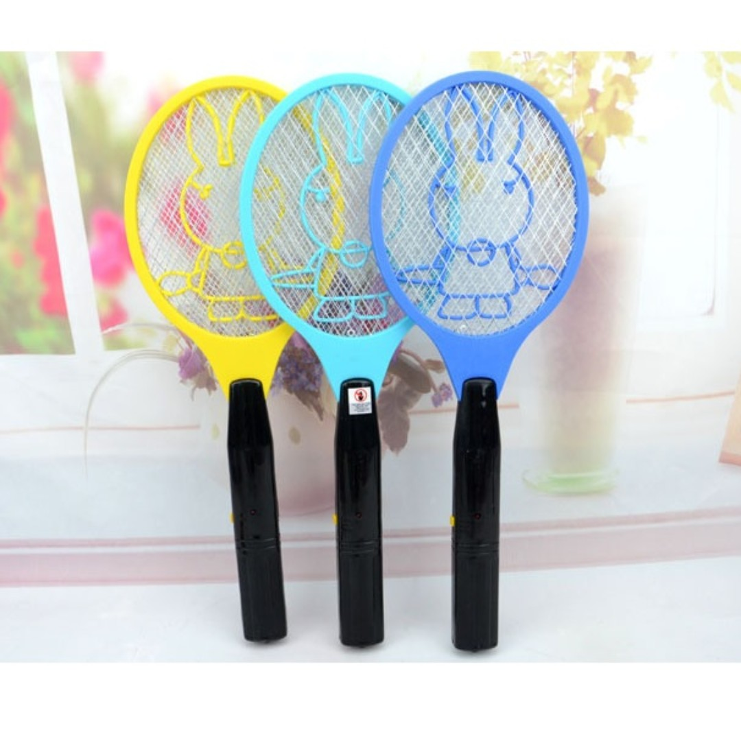 Electric Zapper Flying Mosquitos Flyers Killer Insect Repellent Racket Swatter