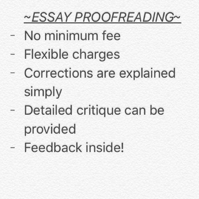 Essay Checking Service