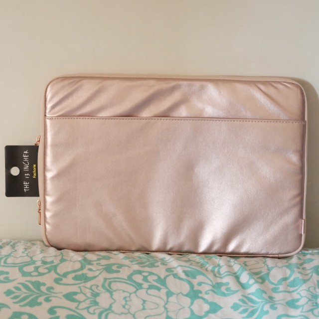"""Factorie 13"""" Rose Gold Laptop Sleeves"""