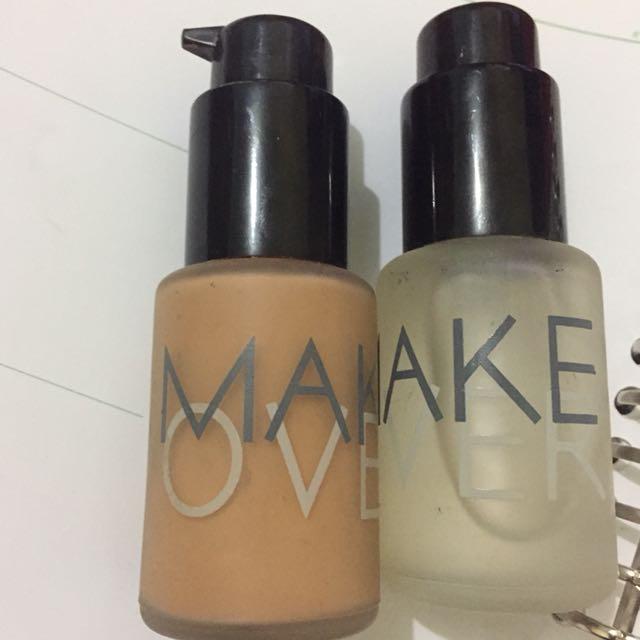 Foundation&primer serum make over