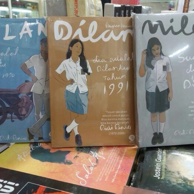 [FREE ONGKIR] NEW DAPET 3 Novel Dilan