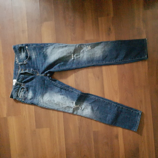Gap Always Skinny Jeans With Some Distressing