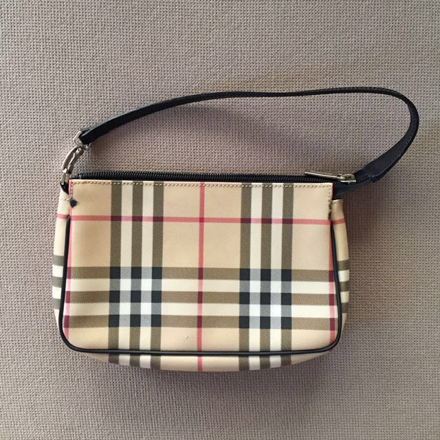 Genuine Burberry London Mini Pochette