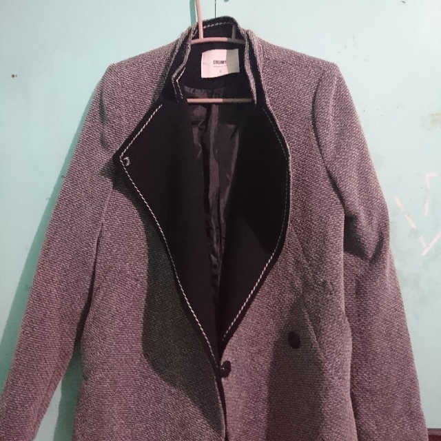 Gray Korean Coat