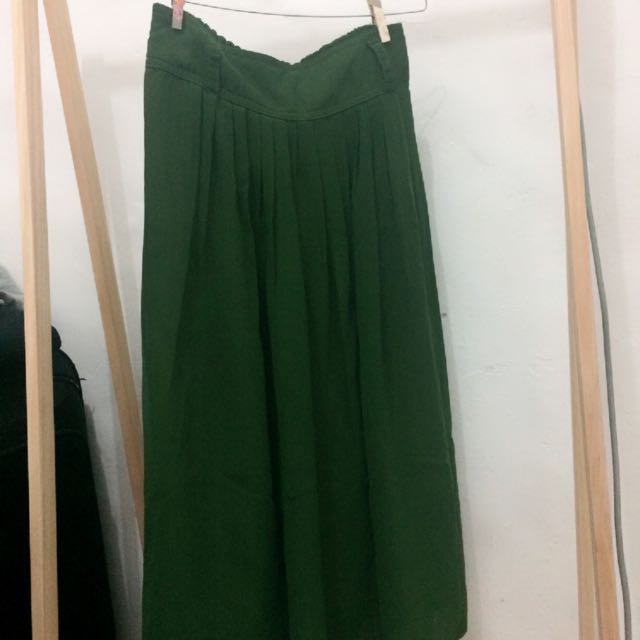 Green Skirt 3/4 Length