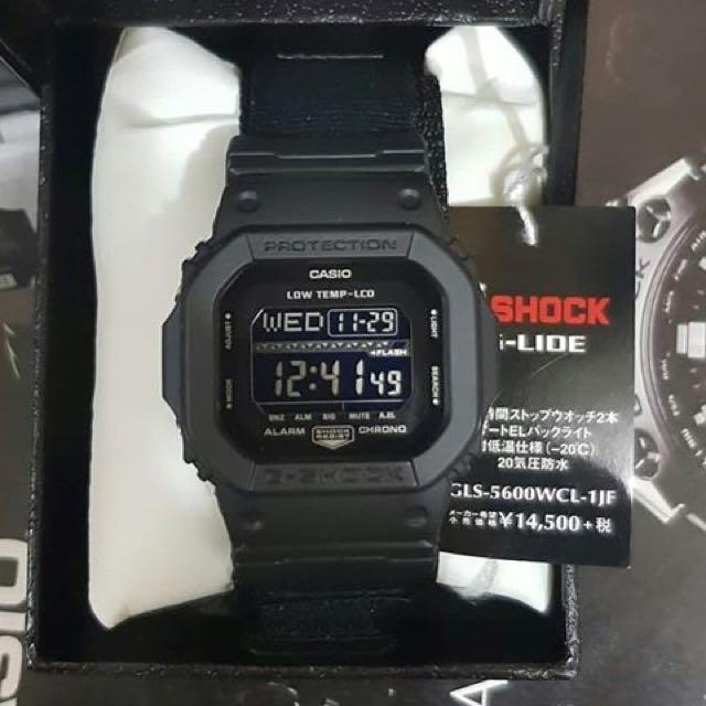 G-SHOCK GLS-5600WCL