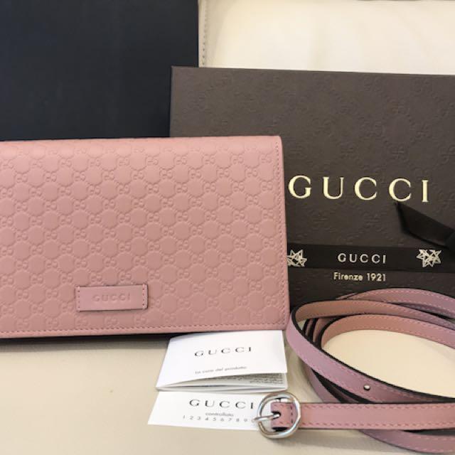 全新Gucci斜背包