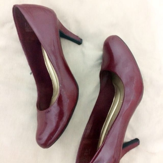 Heels Purple Comfort Plus