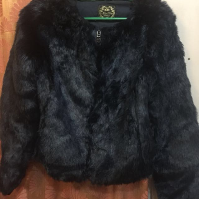 High Quality Thick Faux Fur Jacket/ Coat