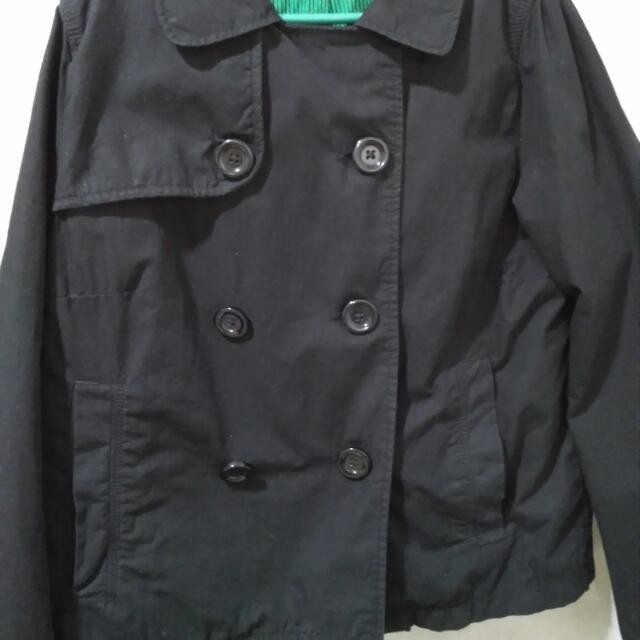 H&M Trendy Black Jacket/Coat For Women